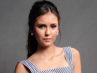 nina dobrev, actress, brunette wallpaper
