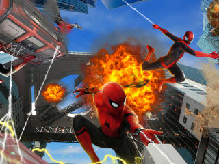 No Way Home HD Spider-Man Art wallpaper