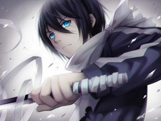 noragami, yato, anime wallpaper
