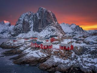 Norway The Lofoten Islands wallpaper