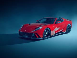 Novitec Ferrari 812 GTS Red 2021 wallpaper