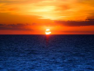 Ocean Sunset Photography wallpaper