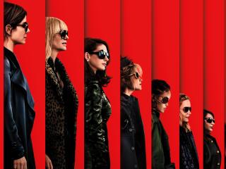 Ocean's 8 Movie 2018 Poster wallpaper