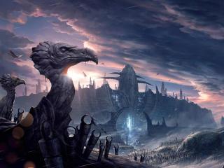 HD Wallpaper | Background Image Oddworld Soulstorm Game Poster