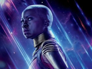 Okoye in Avengers Endgame wallpaper