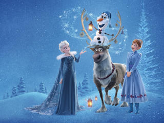 Olafs Frozen Adventure wallpaper