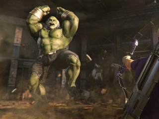 Old Hulk in Marvel's Avengers Game wallpaper