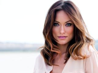 olivia wilde, actress, face wallpaper