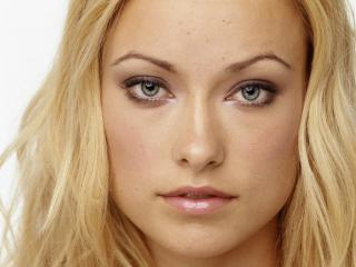olivia wilde, blonde, face wallpaper
