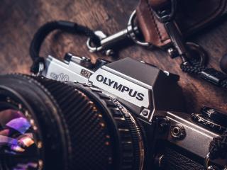 olympus, camera, logo wallpaper