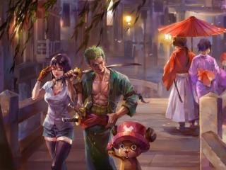 One Piece Painting wallpaper