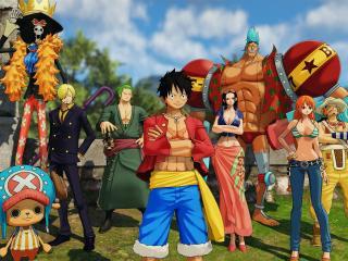 One Piece World Seeker 4K wallpaper