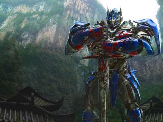 Optimus Prime In Transformers wallpaper