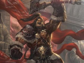 Orc In World of Warcraft wallpaper