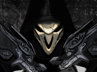 Overwatch Reaper 4K wallpaper