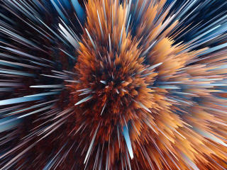 Particles Abstract wallpaper