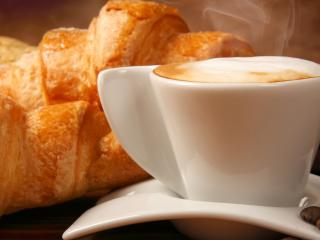 pastries, cup, food wallpaper