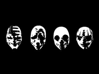 Payday Masks wallpaper