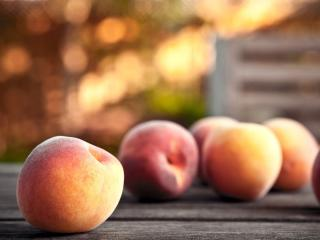 peaches, delicious, fruit wallpaper