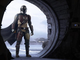 Pedro Pascal The Mandalorian 2 wallpaper