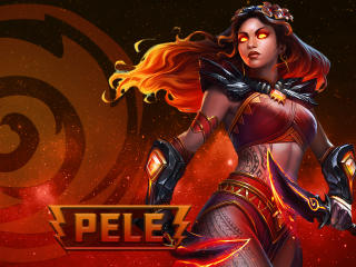 Pele in Smite wallpaper