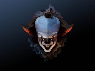 Pennywise Polygon Art wallpaper
