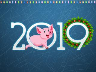 Peppa Pig 2019 Year wallpaper