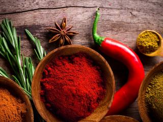 pepper, spices, vegetables wallpaper