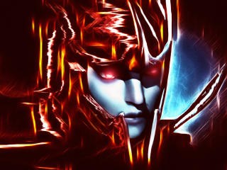 Phantom Assassin DotA 2 Digital Art wallpaper