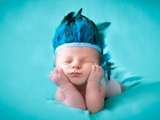 Photoshoot of Cute New Born Baby wallpaper