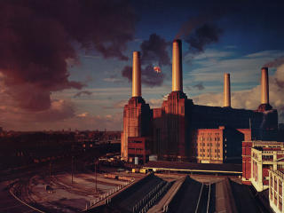 Pink Floyd Animals Album Cover wallpaper