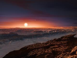 Planet Orbiting Proxima Centauri wallpaper