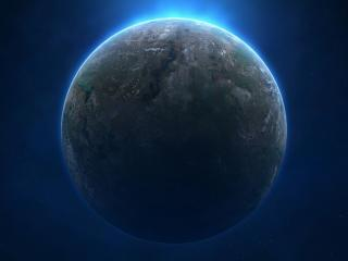 planet, space, shadow wallpaper
