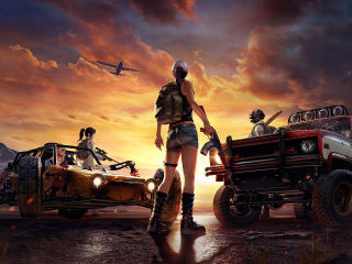 HD Wallpaper | Background Image PlayerUnknowns Battlegrounds Game Poster