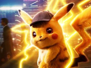 Pokémon Detective Pikachu 4K wallpaper