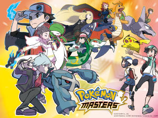 Pokemon Masters Android Game wallpaper