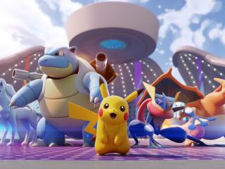 Pokemon UNITE  HD wallpaper