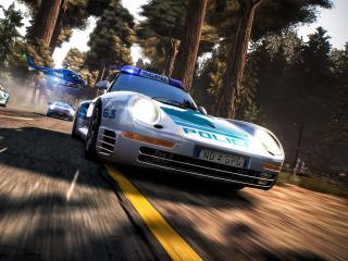 Police Car Need for Speed Hot Pursuit Remastered wallpaper