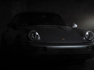 Porsche 911 Carrera Black wallpaper