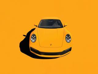 Porsche 911 Minimal wallpaper