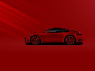 Porsche Minimal wallpaper