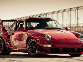 HD Wallpaper | Background Image Porsche Red