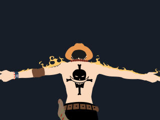 Portgas Ace Cool One Piece wallpaper
