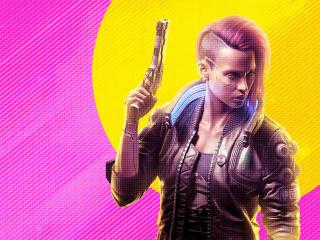 Poster Art of Cyberpunk 2077 2021 wallpaper