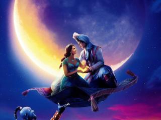 Poster of Aladdin Movie wallpaper