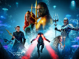 Poster of Aquaman wallpaper