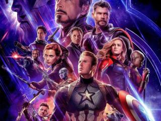 HD Wallpaper | Background Image Poster Of Avengers Endgame Movie