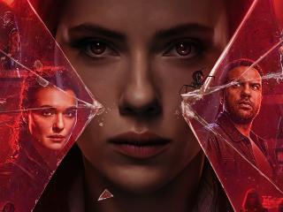 Poster of Black Widow 2021 wallpaper