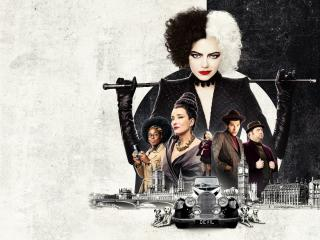 Poster of Cruella 4k Movie wallpaper