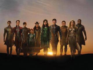 Poster of Eternals 2021 Movie wallpaper